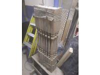Hardwood stair spindles, stair parts
