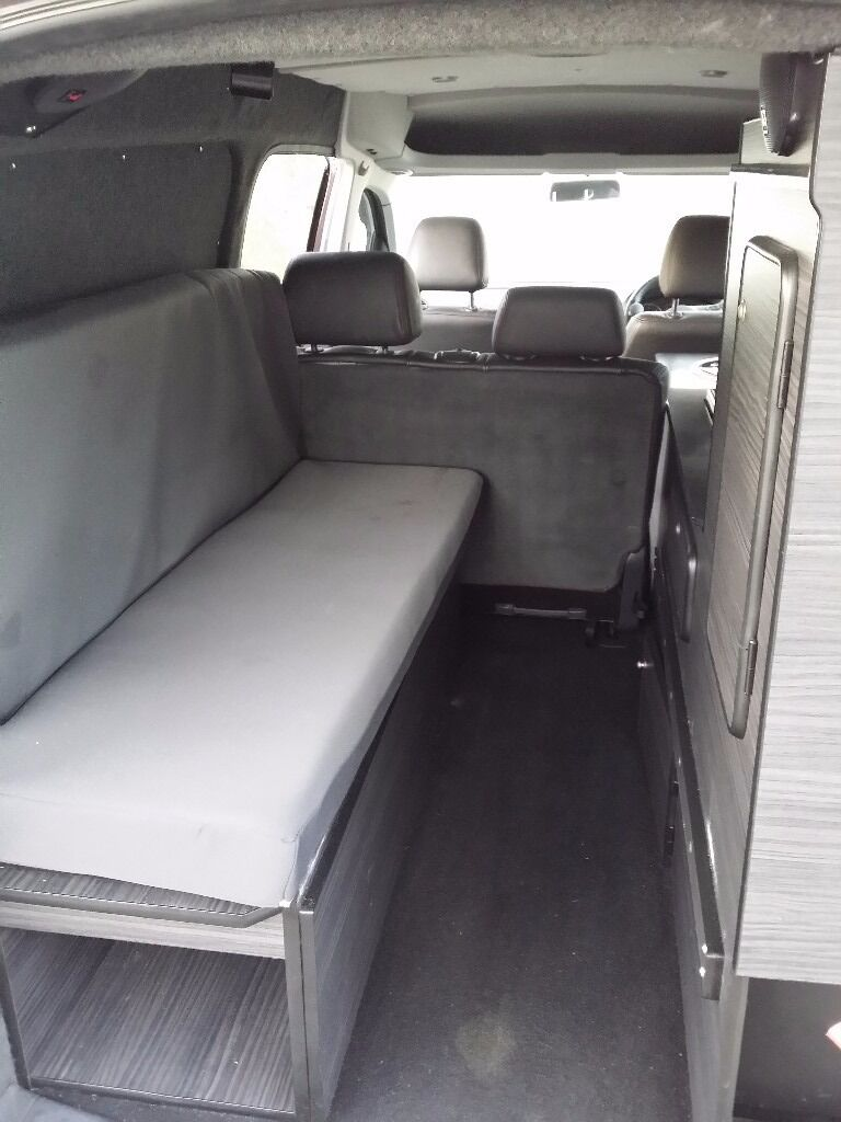 Vw Caddy Maxi C20 Kombi Tdi Converted Into A Camper By