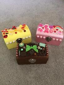 1 x kawaii decoden, handmade trinket box, gift idea?