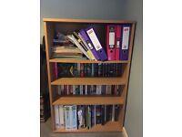 4 shelf bookcase - bookshelf - book storage unit