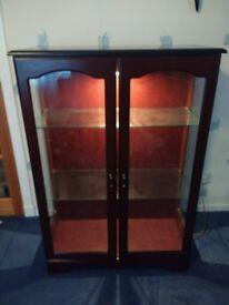 Display Cabinet / Storage / vintage / retro sideboard