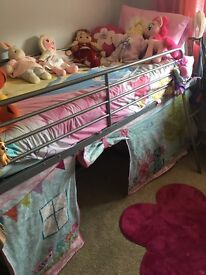 Metal mid sleeper includ rs tent surround but not mattress