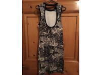 Women's Dress with Tiger Print