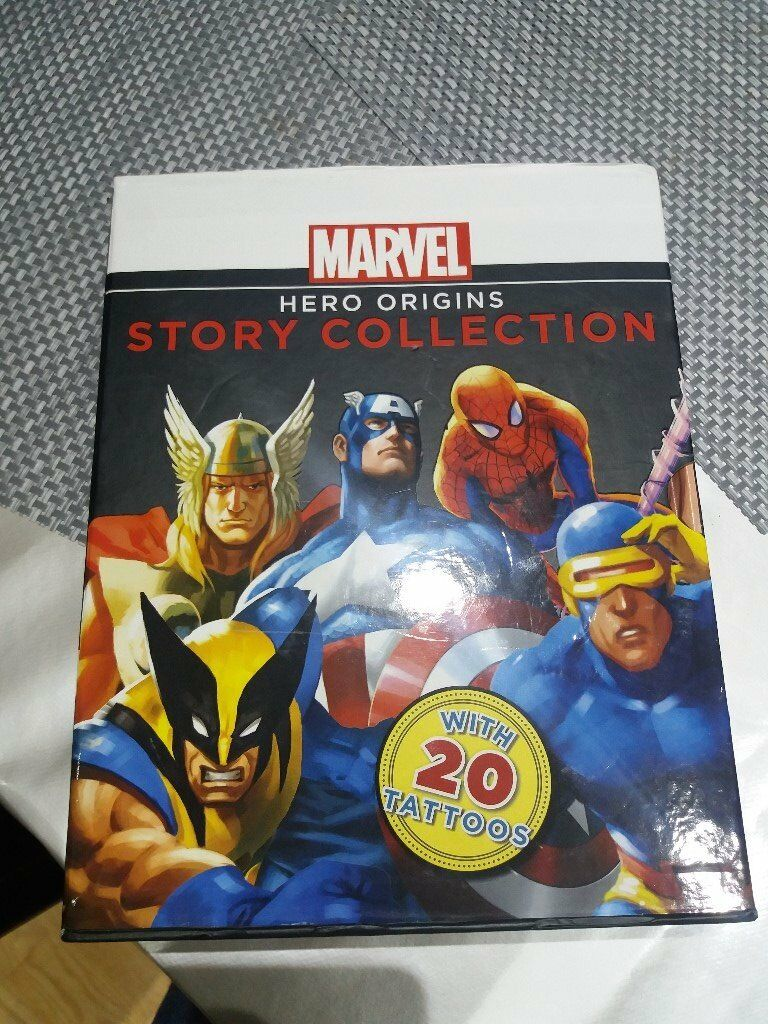 Marvel Hero Origins Story Collection Hardcover