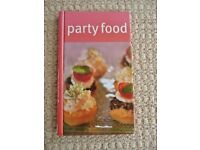 Party Food Hardback Book by Linda Doeser Recipes for Snacks Dips and Nibbles Cooking Cookery