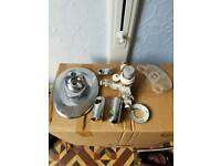 Complete thermostatic shower system kit