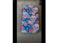 Brand new Samsung J3 candy skull wallet case