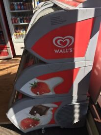 Wall's 3 Tier Commercial Ice Cream Freezer Spares or Repair