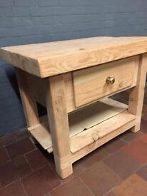 Large butchers table
