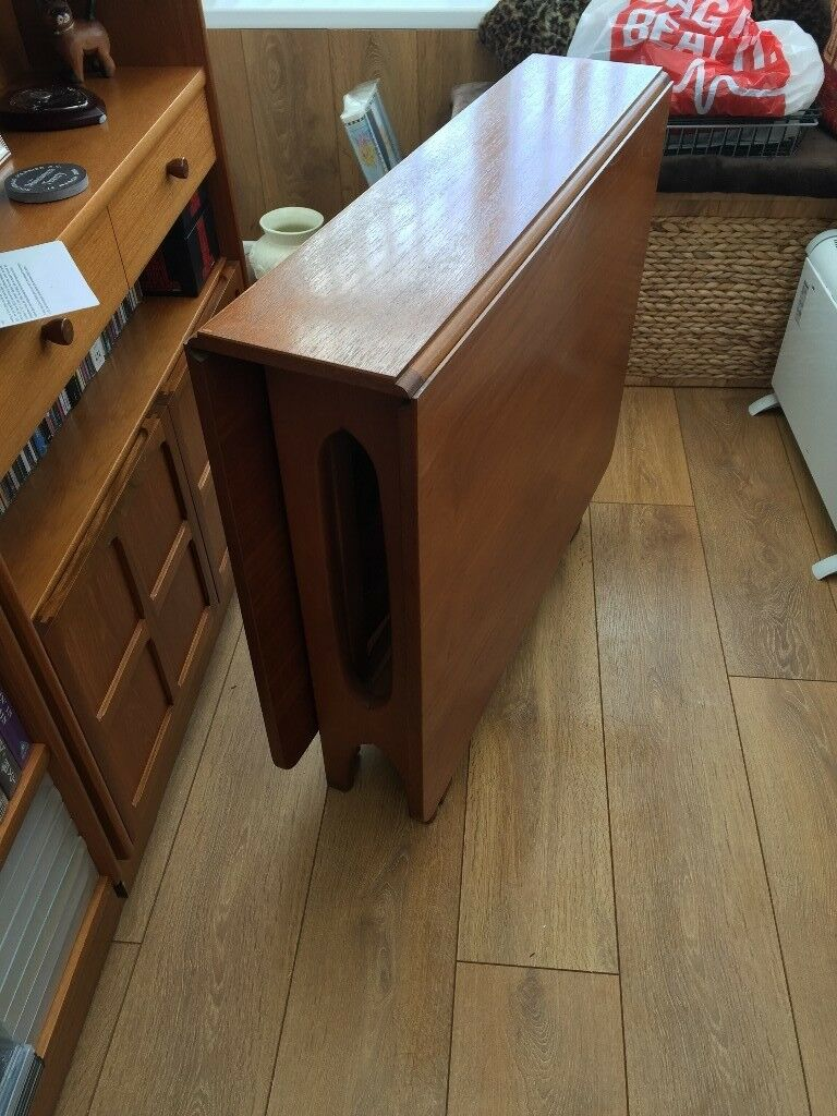 Teak Double Drop Leaf Table