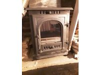 8kw cast iron woodburner