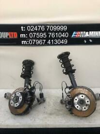 BMW 1 2 SERIES F20 F21 F22 F23 COMPLETE FRONT SUSPENSION LEG LEFT OR RIGHT 2013-2019