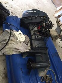 40hp Yamaha Long shaft Outboard Boat engine