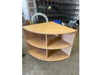 Office furniture corner cupboard