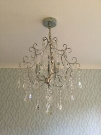 3 arm ceiling light fitting