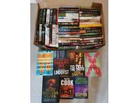 Lots of thriller books summer holiday reads