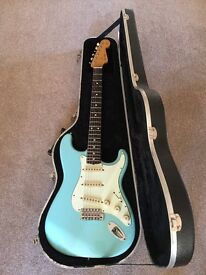 Fender Stratocaster in Sonic Blue 50's Style