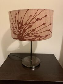 Beige / Gold Lamp