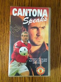 Eric Cantona Signed Video