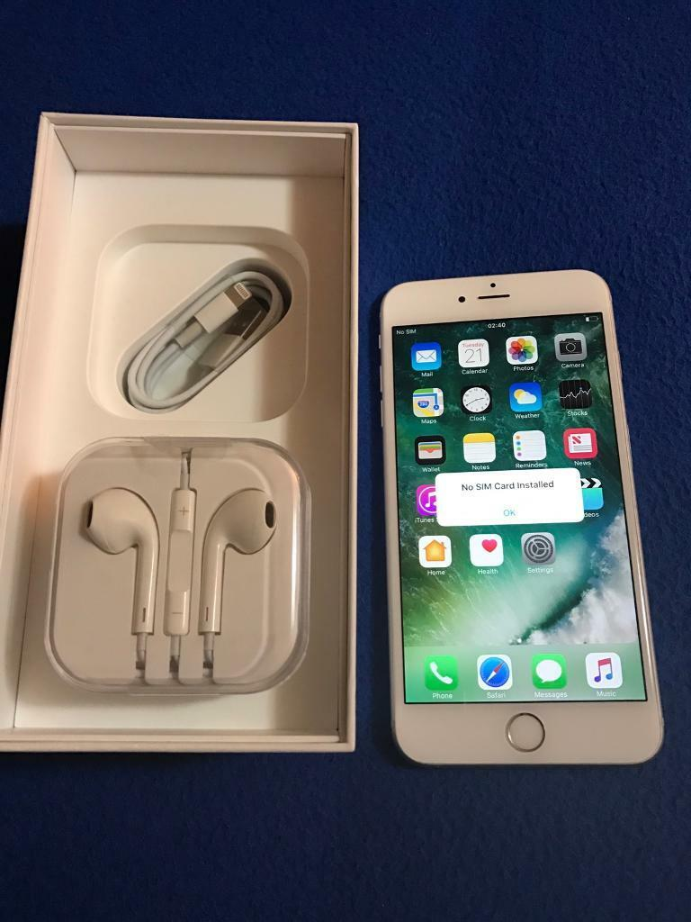 Iphone 6s plus unlockedin Portsmouth, HampshireGumtree - Iphone 6s plusUnlocked Silver16gbExcellent conditions Hardly used Comes with box and brand new charger and headphones No swap Collection onlyWill not post