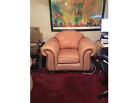 Thomas Lloyd soft leather chair