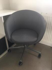 Ikea Swivel chair SKRUVSTA, grey