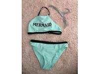 NEW age 9-10 Mermaid Bikini Set