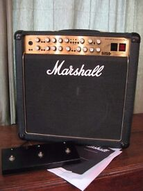 Mid '90's Marshall 6101LM 30th Anniversary All Valve 3 Channel 100W Guitar Amplifier Combo