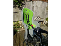 Hamax Kiss bike child seats. 2 for sale. Both as new, immaculate condition