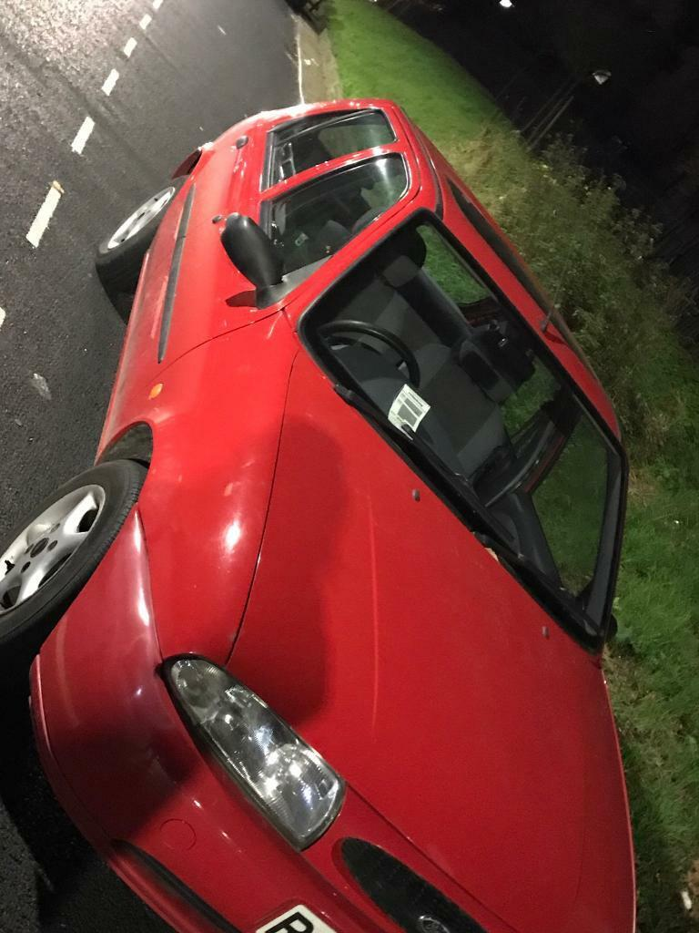 Lovely Red Ford Fiesta LX, super condition and low mileage
