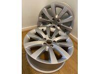 "VW PASSAT / SCIROCCO Alloy wheels - 18"""