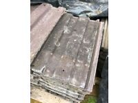 Reclaimed Redland 49 Roof tiles ( Brown ) - 170 available