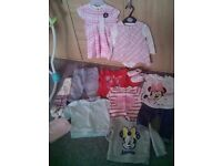 Baby girls spring/summer clothes bundle 3-6 months
