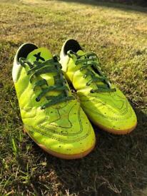 Adidas X Sala Indoor Football Boots Volt Yellow Size - UK 3.5