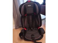 Brand new Graco Car seat High back Booster Gravity 9 months up to 12years