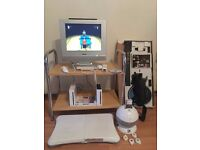 Two Wii console and accessories for sale