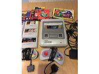 SNES Console & game tested working