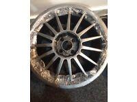 "4no Team Dynamic Monza Wheels 17 x 7"" - 4x100 PCD Mini Cooper Vauxhall Corsa VW Golf"