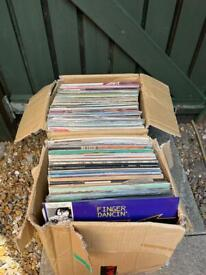 2 boxes of LP's