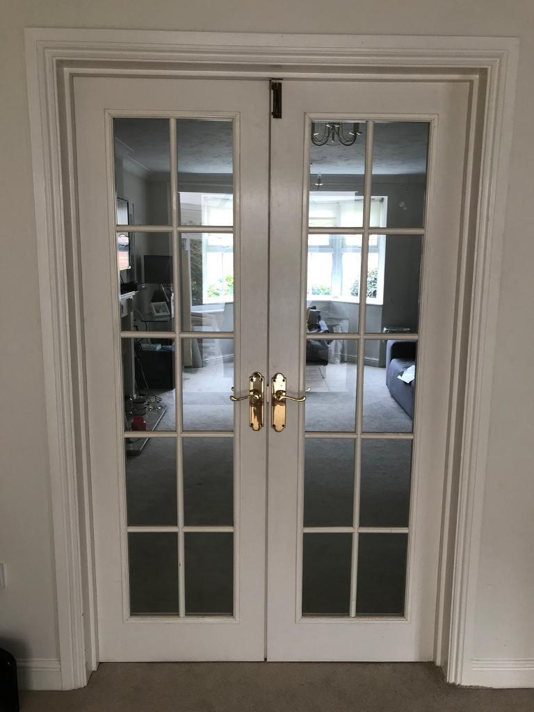Double Doors Internalinterior Georgian Style In St Mellons