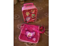 Children's Barbie Suitcase & School Bag.