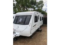 elddis avante club 544 2008 4 berth fixed bed