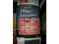 3-50mm flexible floor leveller 20kg grey