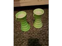 Maling vases rare collectable