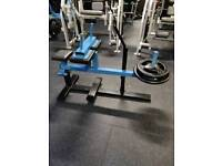 SEATED CALF RAISE - Plate Loaded Full Commercial