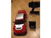 Remote Control Car - Mitsubishi Evolution