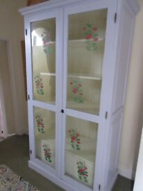 Linen Cupboard - large, apinted and in excellent condition.
