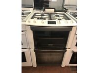 60CM WHITE ZANUSSI GAS COOKER