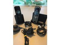 Siemens cordless phone set - 2 phones