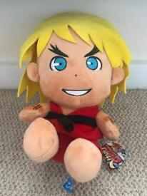 Street fighter ken teddy - like new